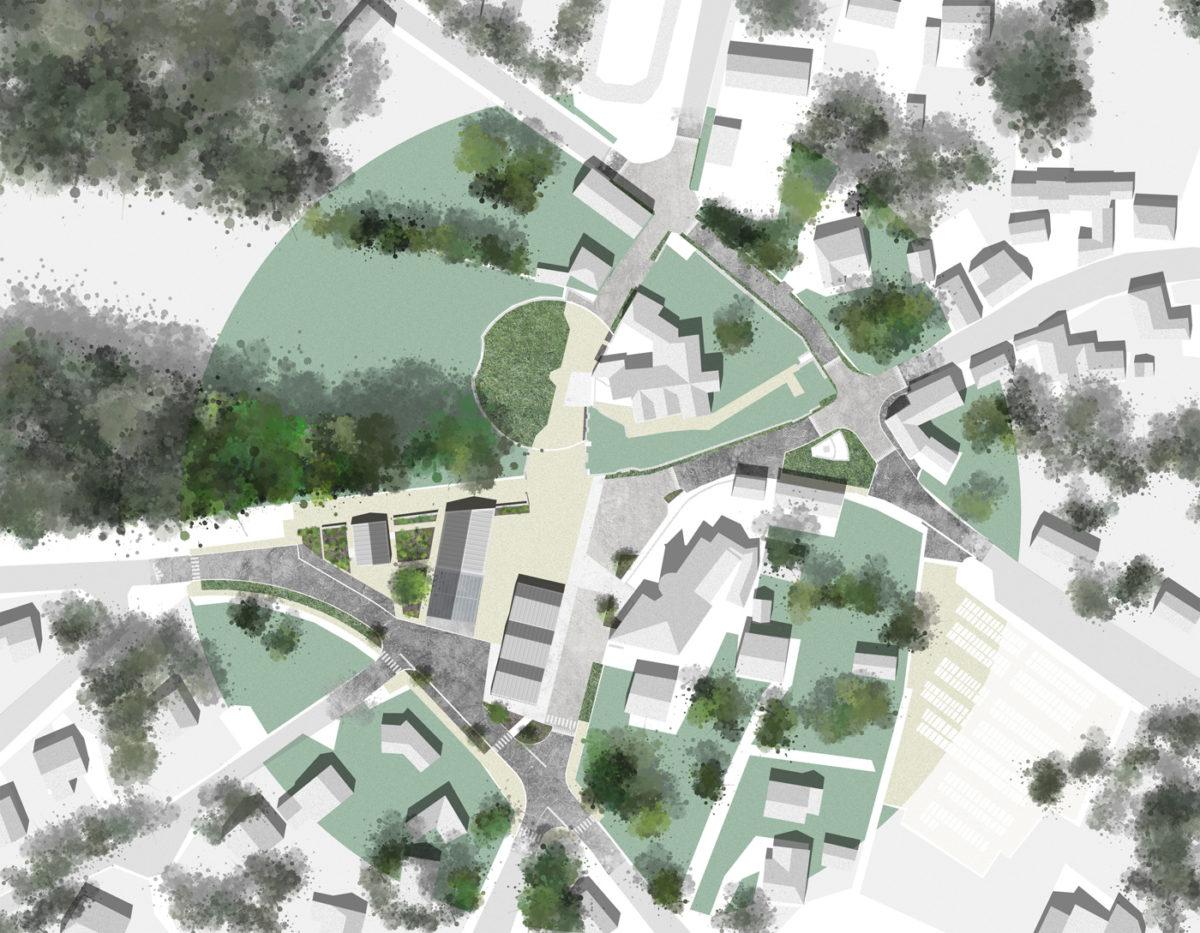 Plan d'aménagement du bourg de Tréveneuc