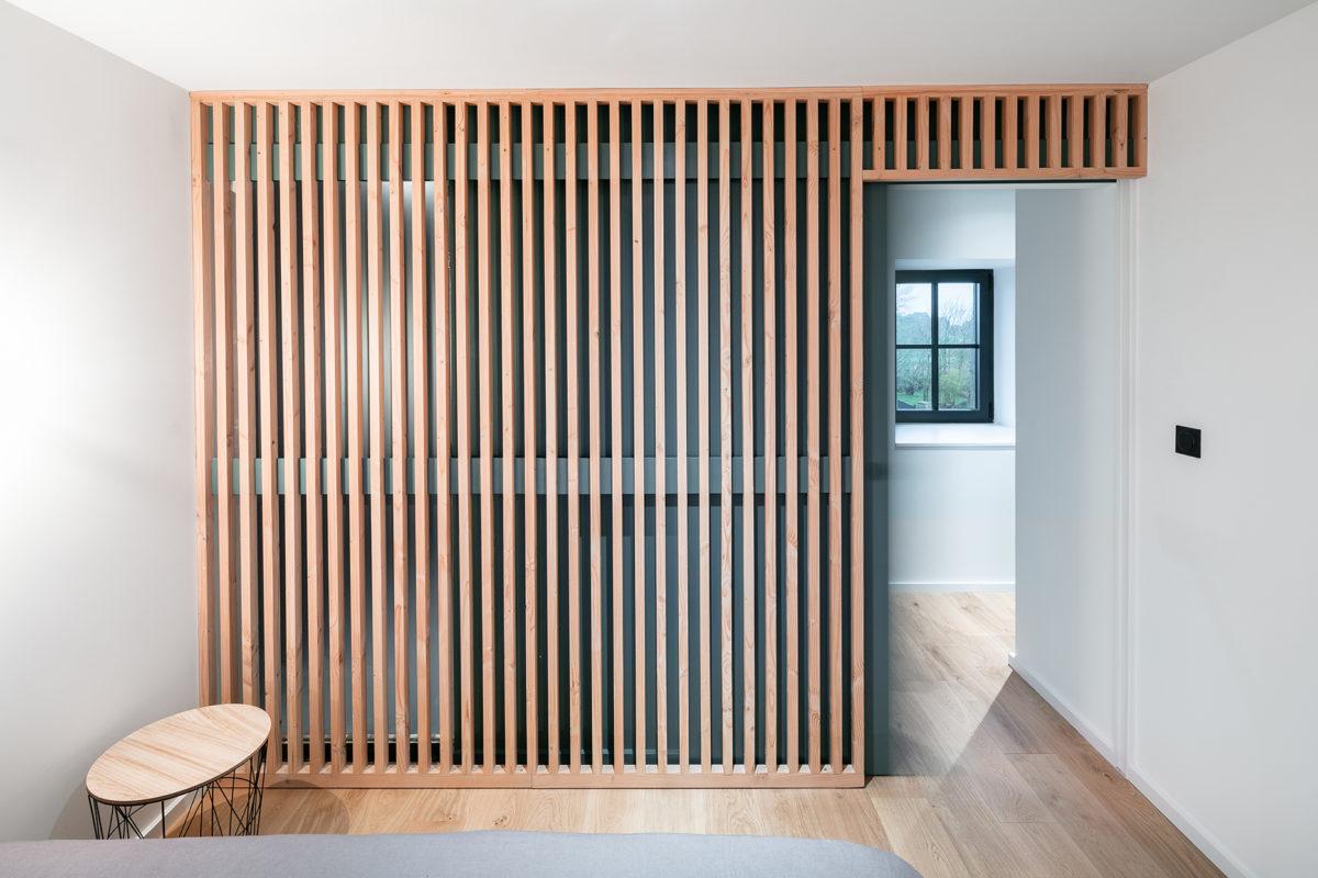Mur bois design intérieur