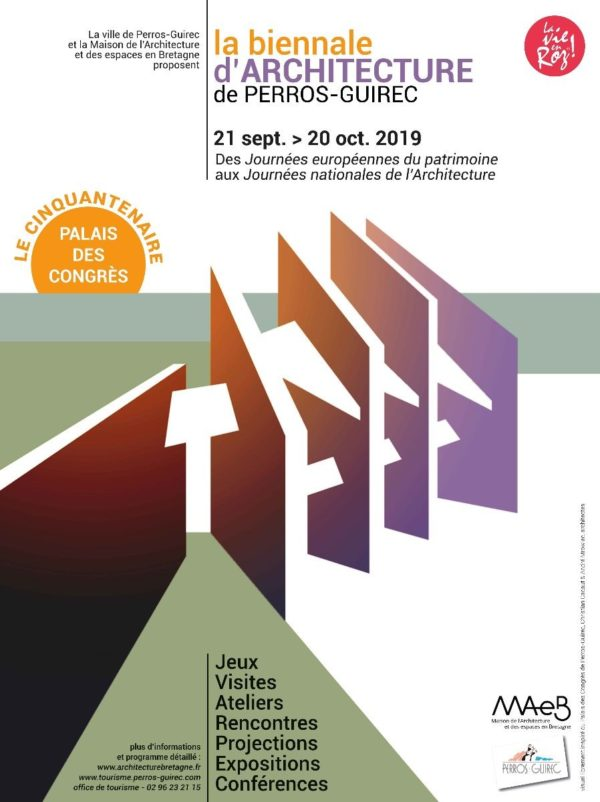 Flyer biennale d'architecture 2019