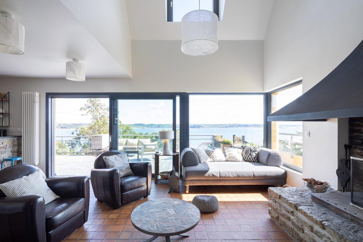 Maison vue mer Trébeurden - B. Houssais Architecture